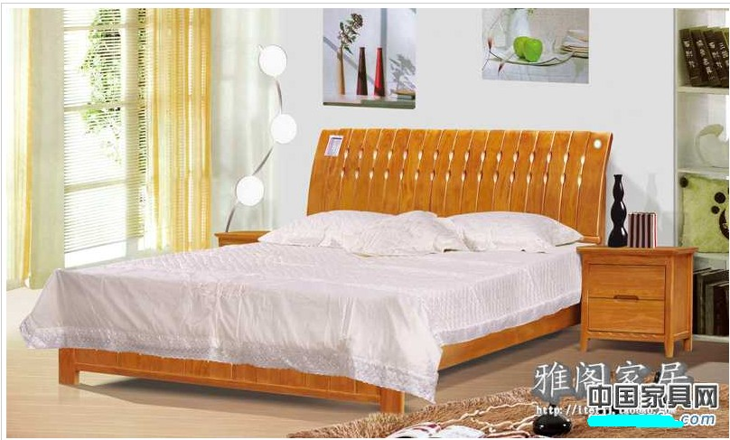 橡木家具搭配窗帘